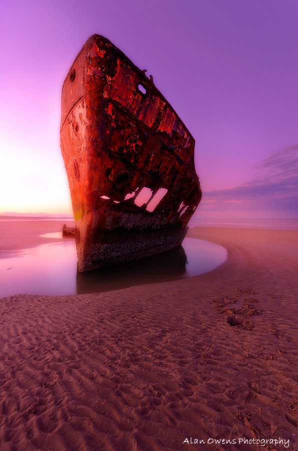 Photograph The Wreck  by Alan Owens on 500px