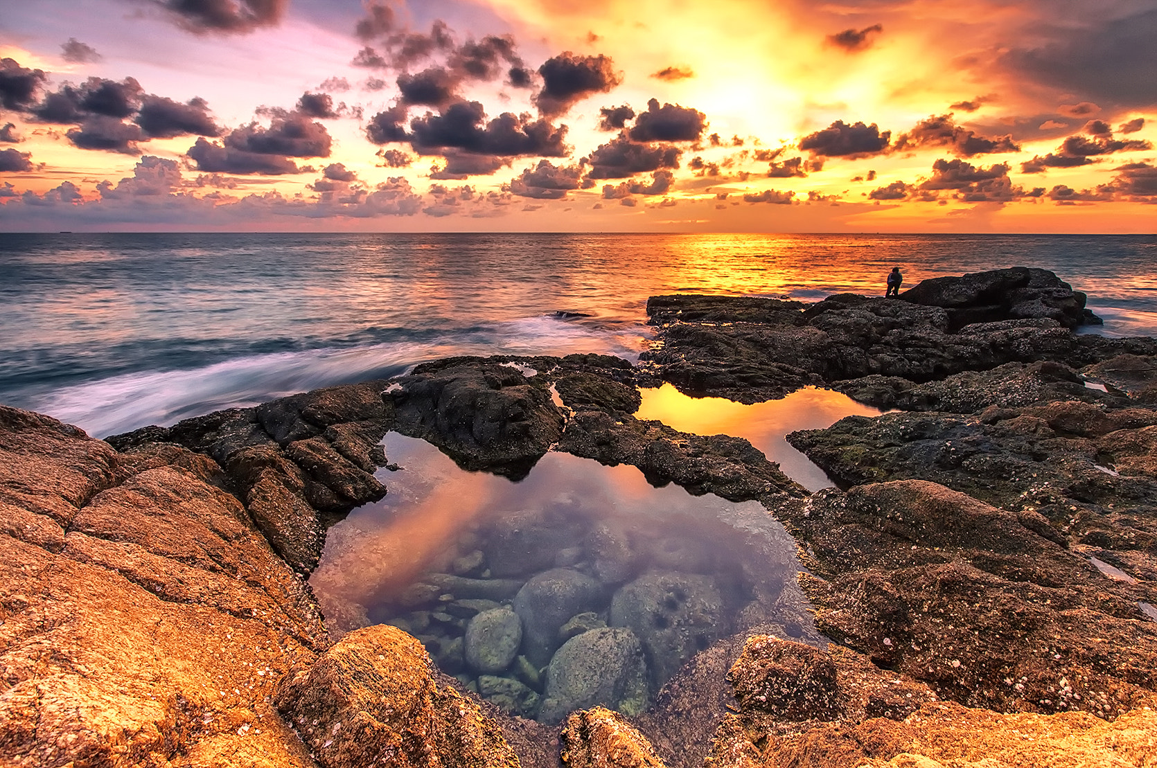 Photograph Color of the sea by Wazabi Bomb  on 500px