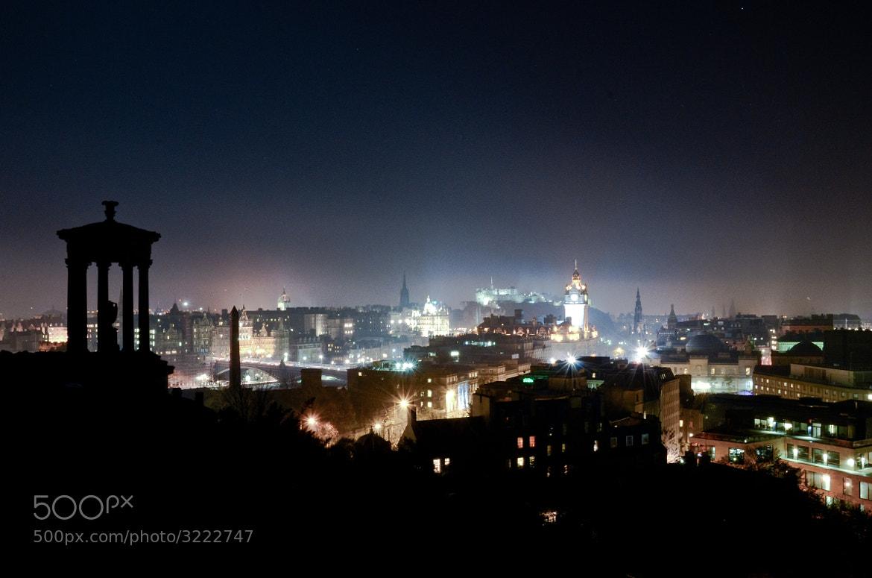 Photograph Edinburgh, Bonfire Night by Shane Rounce on 500px