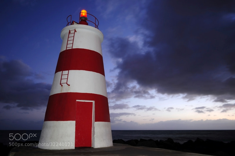 Photograph The lighthouse by José Eusébio on 500px