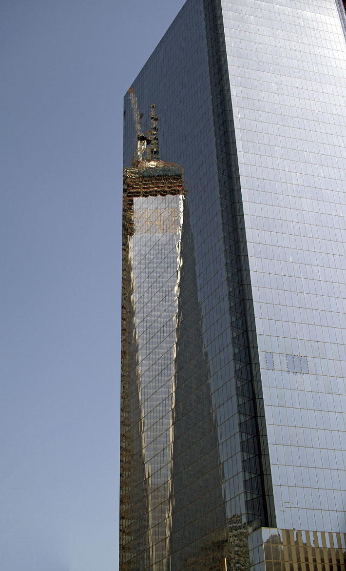 Photograph WTC Reflection  by William  Donnelly on 500px