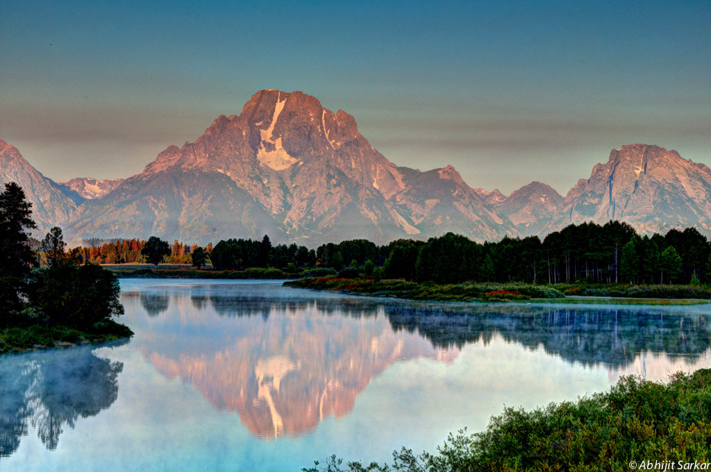 Photograph Sunrise at Oxbow Bend by Abhijit Sarkar on 500px