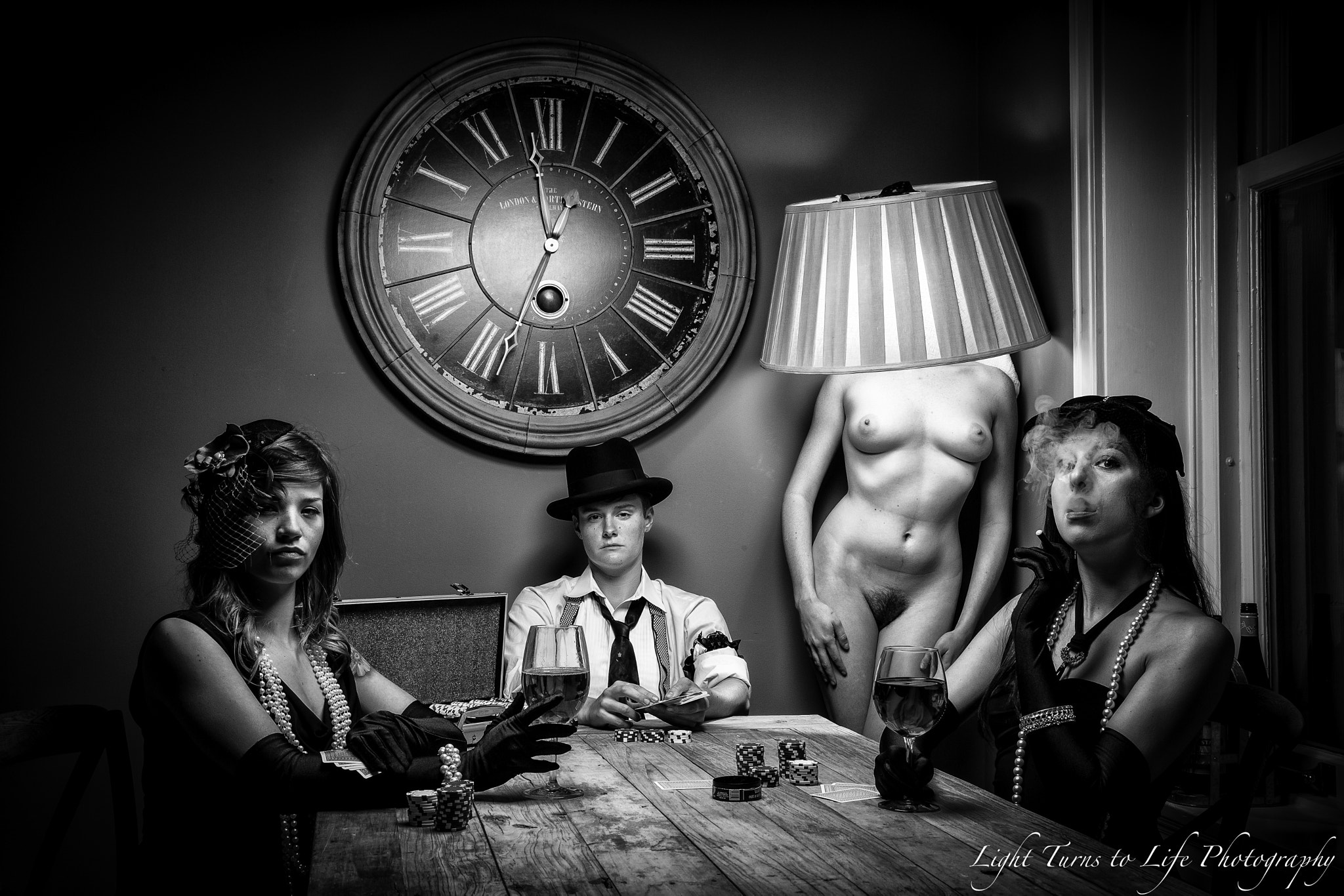 Photograph Strip Poker Night by Vinson Smith on 500px
