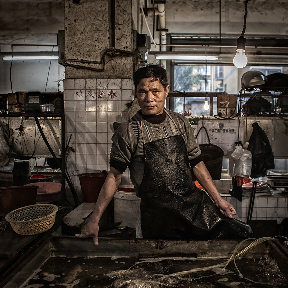 Photograph The Fish Monger by Michael Steverson on 500px