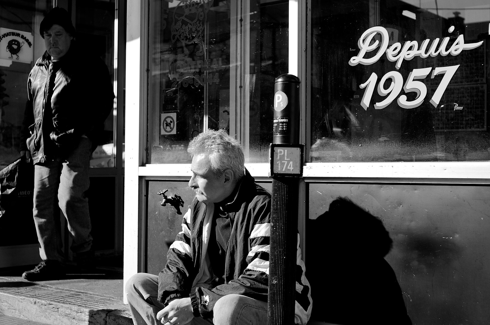 Photograph Fall street 3 - Wait and see by Emmanuel Dubois on 500px