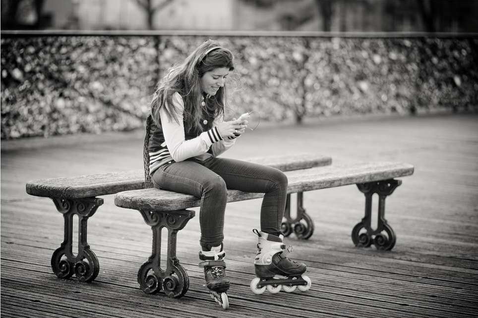 Photograph The skater wrote secret messages by Laurent DUFOUR on 500px