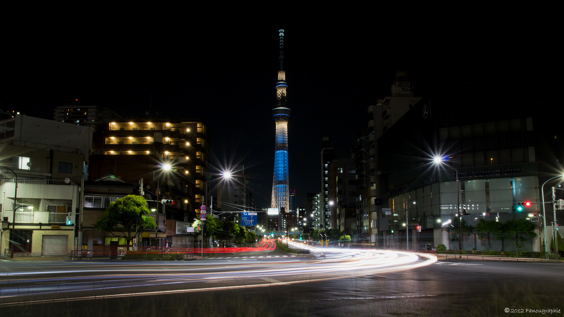 Photograph Sky Tree by Fanougraphie * on 500px