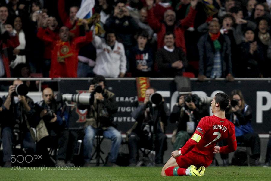 Cristiano Ronaldo, Portugal vs Bosnia, apuramento EURO 2012, 15 de Novembro de 2011, Estadio da Luz, Lisboa