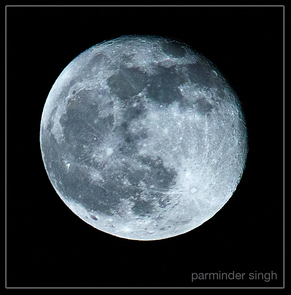 Photograph moon by parminder singh on 500px