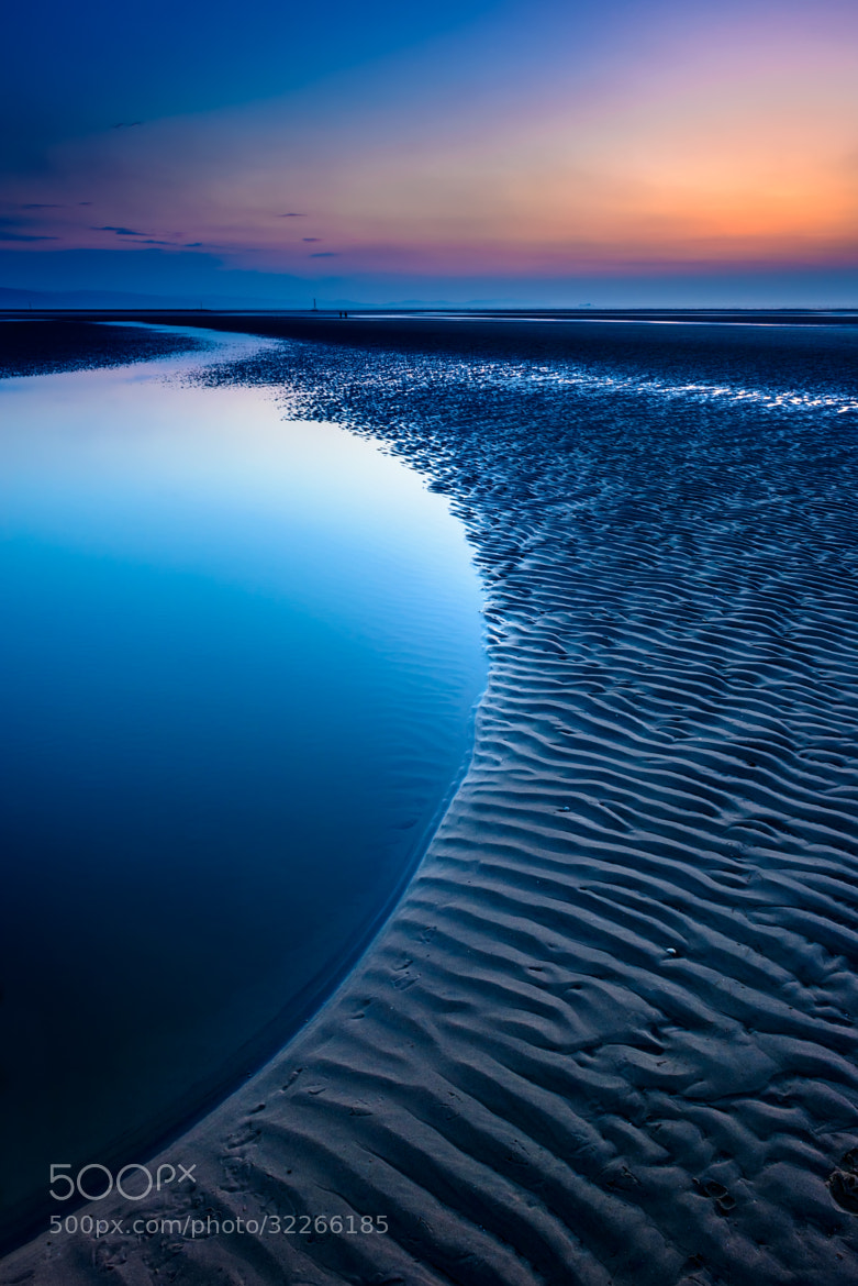 Photograph Blue Beach by Adrian Evans on 500px