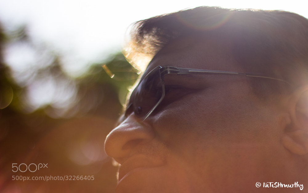 Photograph Portrait of an EF by Nitish Murthy on 500px