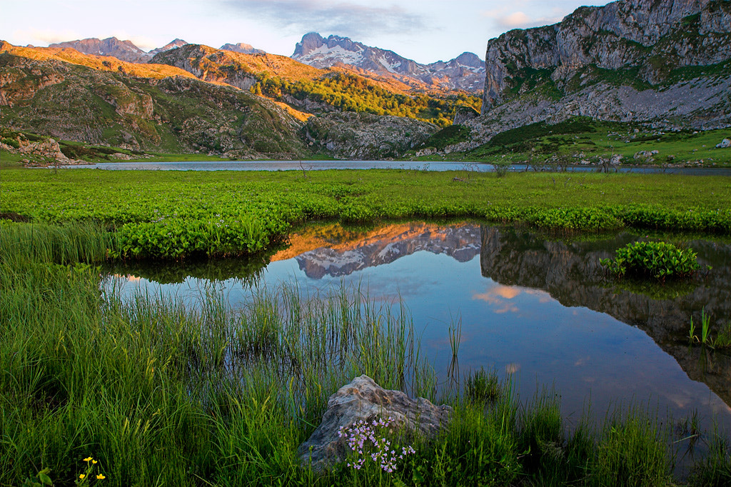 Photograph Sunset in Lagos de Covadonga by Javier Abad on 500px