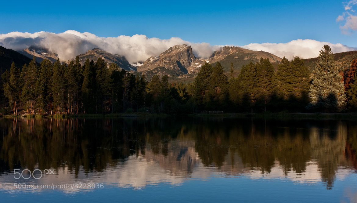 Photograph Sprague Lake Reflection by Manju Kumar on 500px