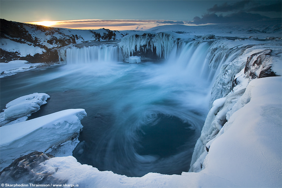 "Photograph Goðafoss ""Waterfall of the Gods"" - North Iceland by Skarpi Thrainsson on 500px"