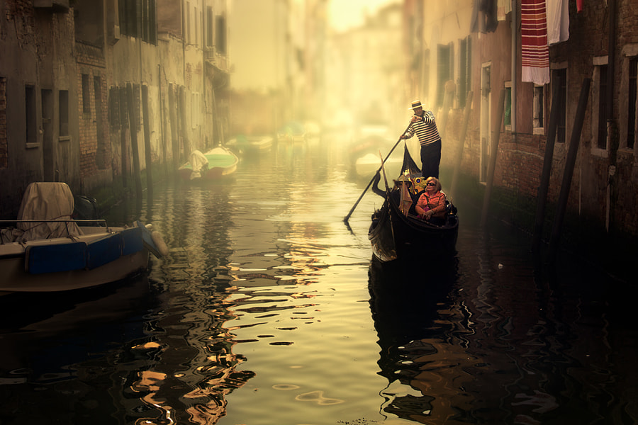 Photograph Strolling Venice by Cristina Ramos on 500px