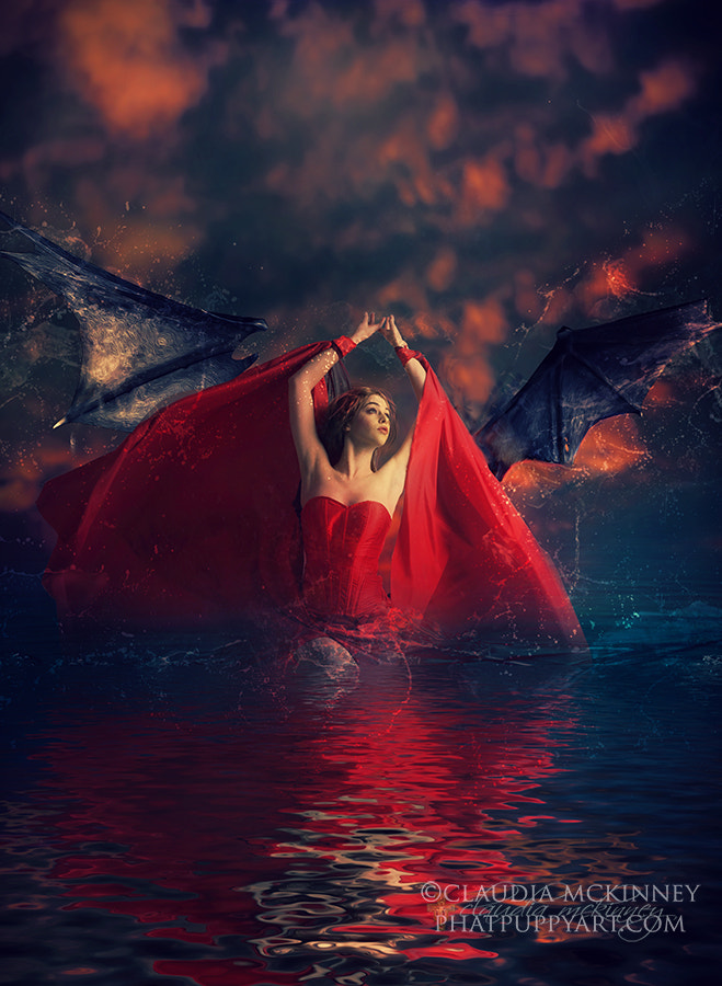 Photograph Red Dragon by Phatpuppy Art on 500px