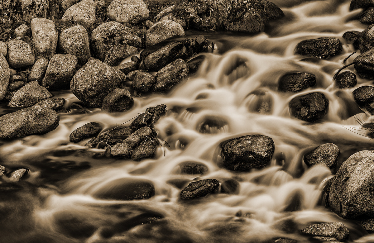 Photograph fast water by Albert Galì on 500px