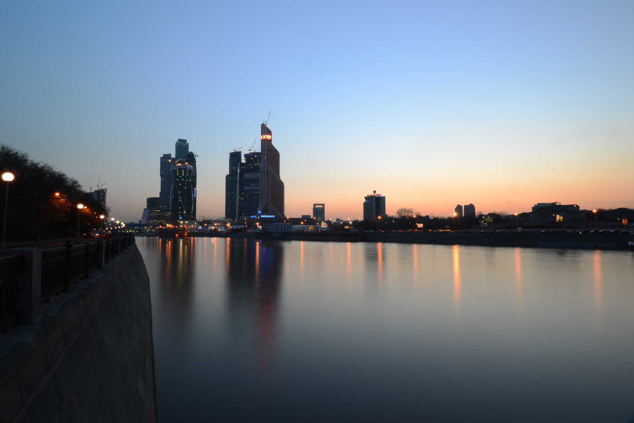 Photograph Moscow City in the evening by Igor Zabara on 500px