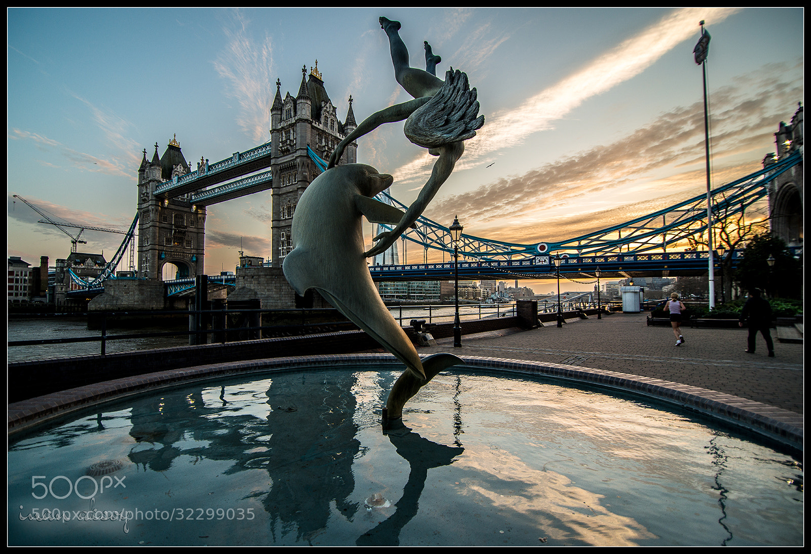 Photograph Tower Bridge During Sunset by Inan Aksoy on 500px