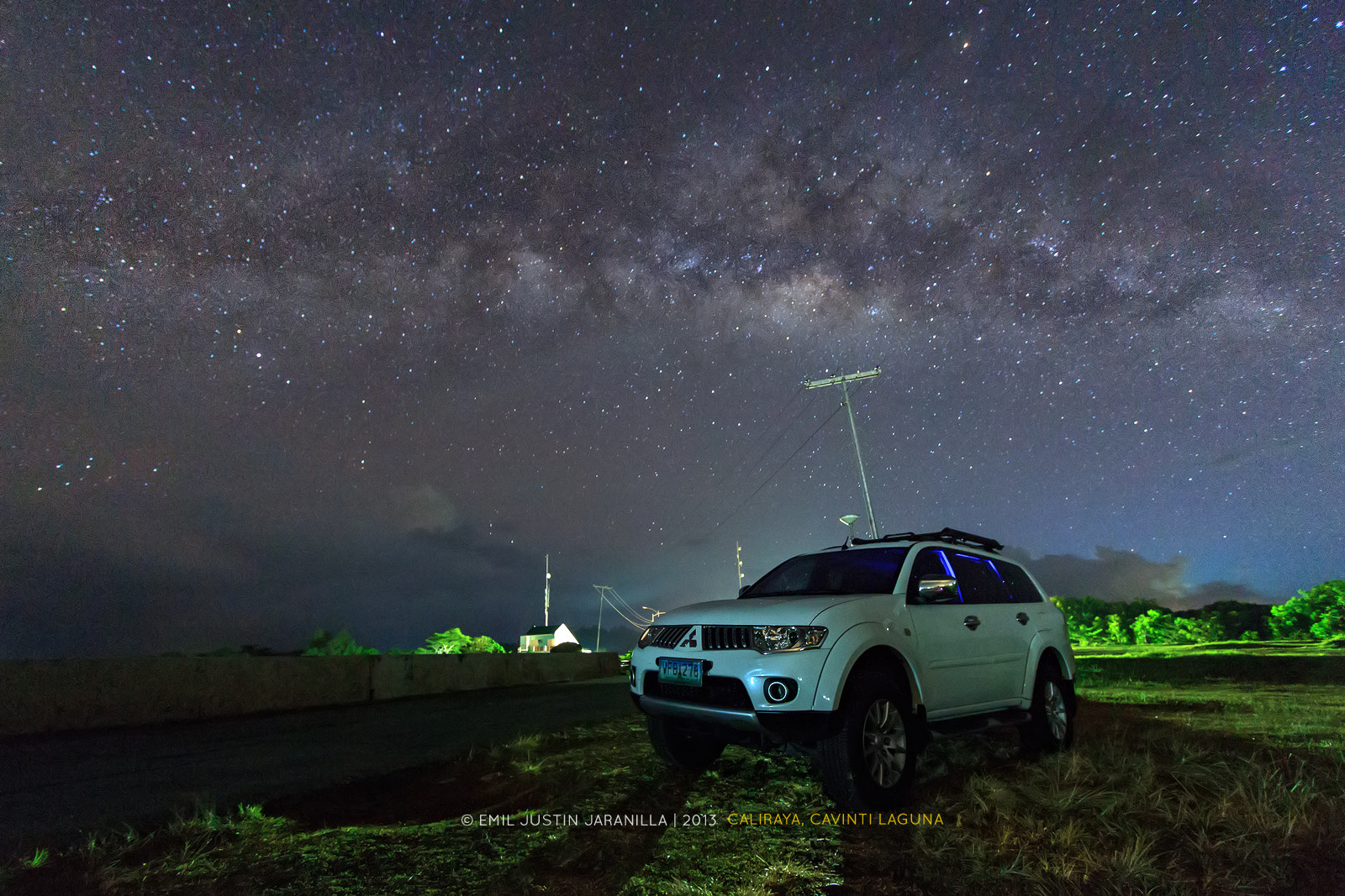 Photograph SUV and the Milky Way by Emil Justin Jaranilla on 500px
