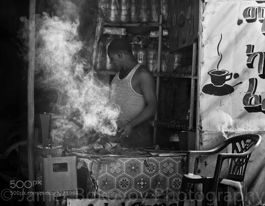 Ethiopian coffee shop