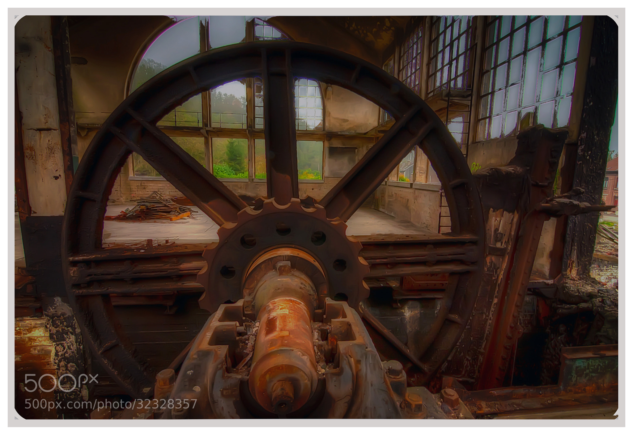 Photograph Belgium Mine II by Gene  Brooking on 500px