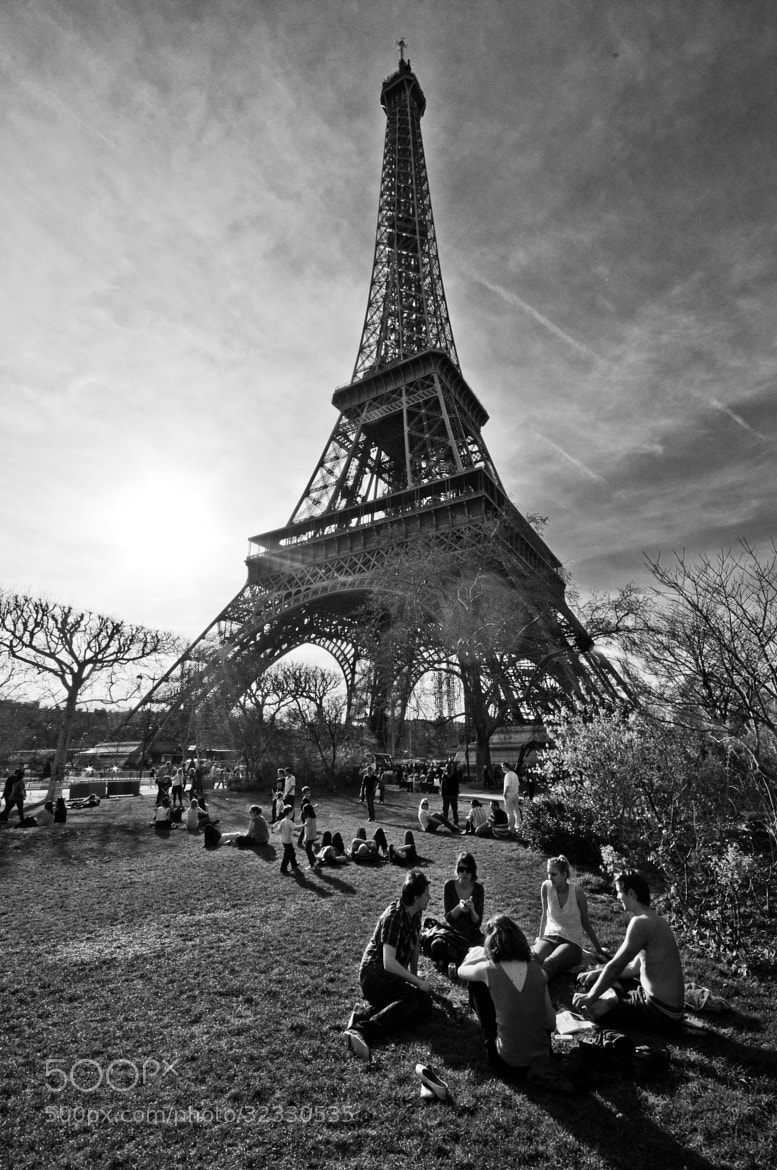 Photograph At the foot of the great lady ( Eiffel Tower ) by Nabil BACHIR-CHERIF on 500px