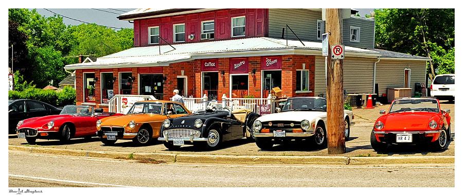 Saloon Car Club Coffee Break