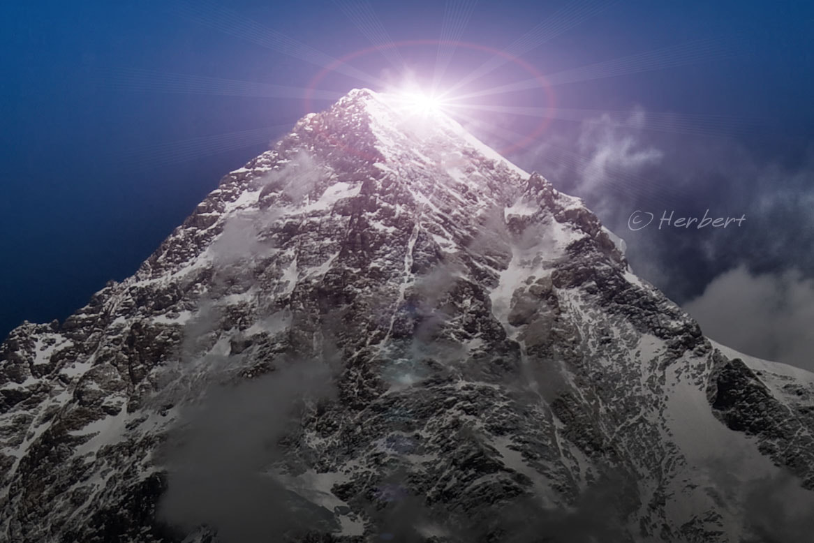 Photograph K2 summit by Herbert Wong on 500px