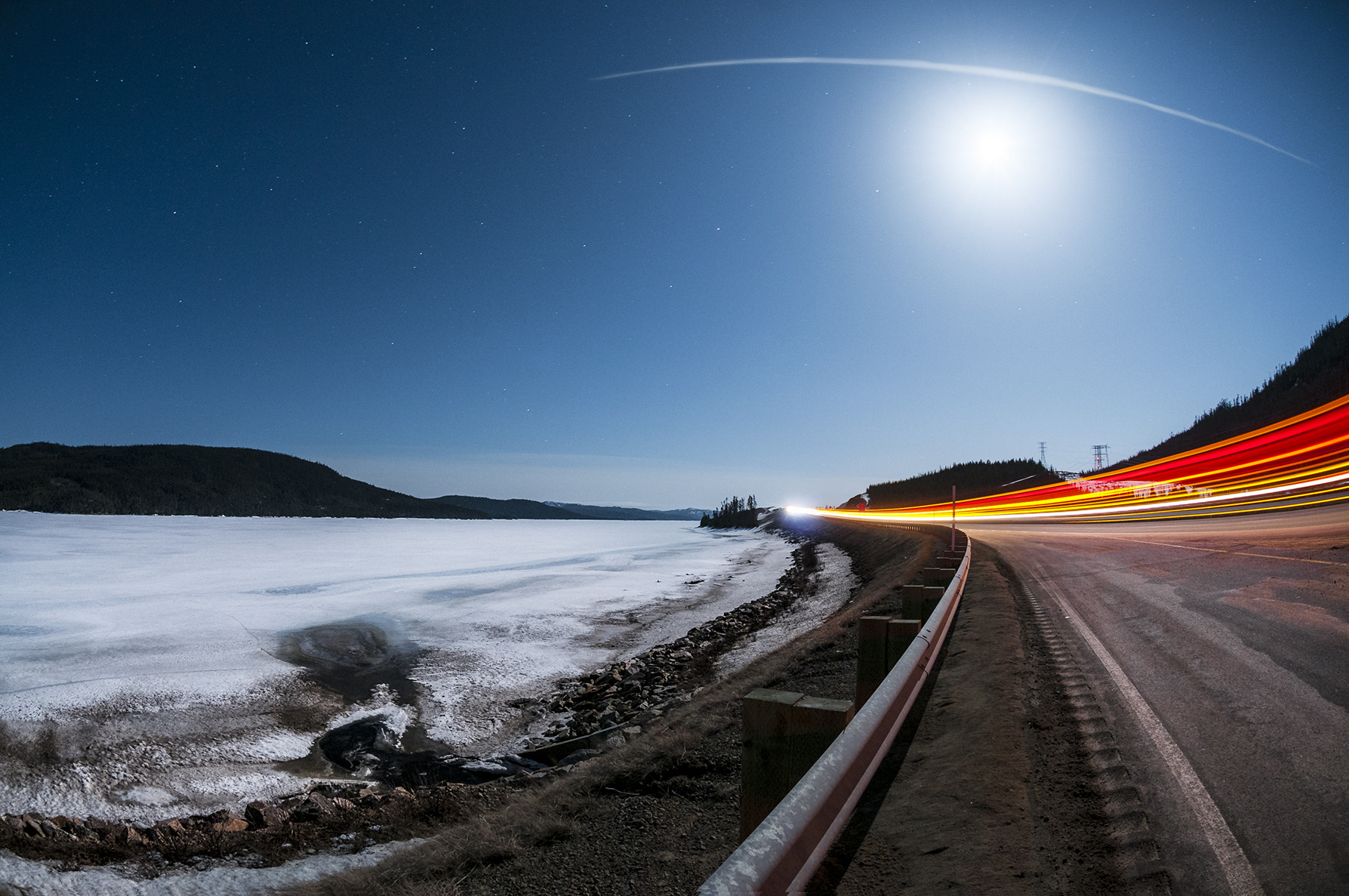 Photograph That night when the moon is full by Dérick Tremblay on 500px