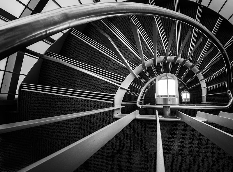 Photograph Stairs in the Library by Lanndon Lindsay on 500px