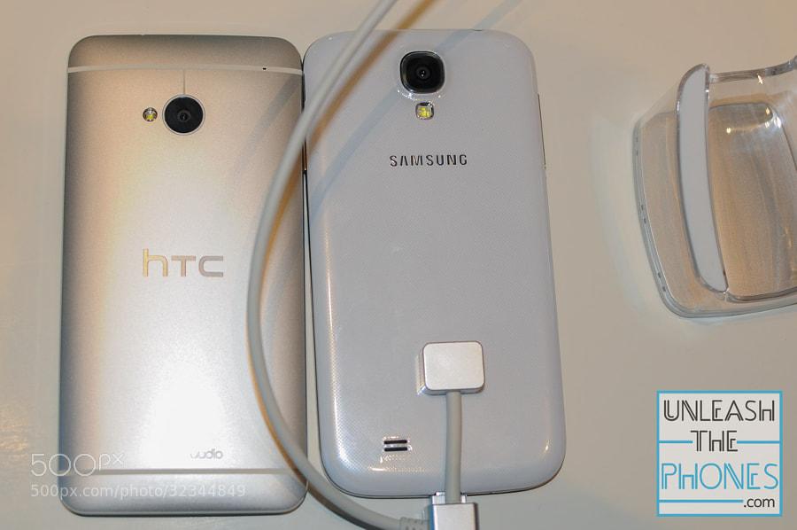 HTC One vs Galaxy S 4 Back by aatifsumar ) on 500px.com
