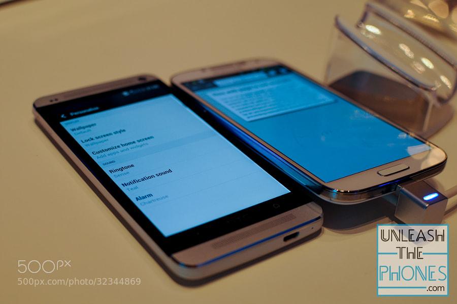 HTC One vs Galaxy S 4 Side by aatifsumar ) on 500px.com