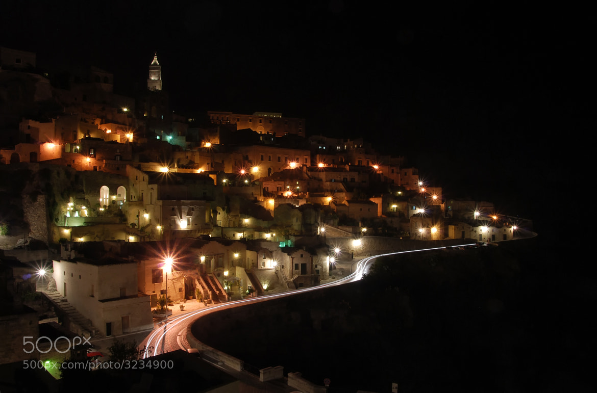 Photograph Night in Matera by Валерий Иванюта on 500px