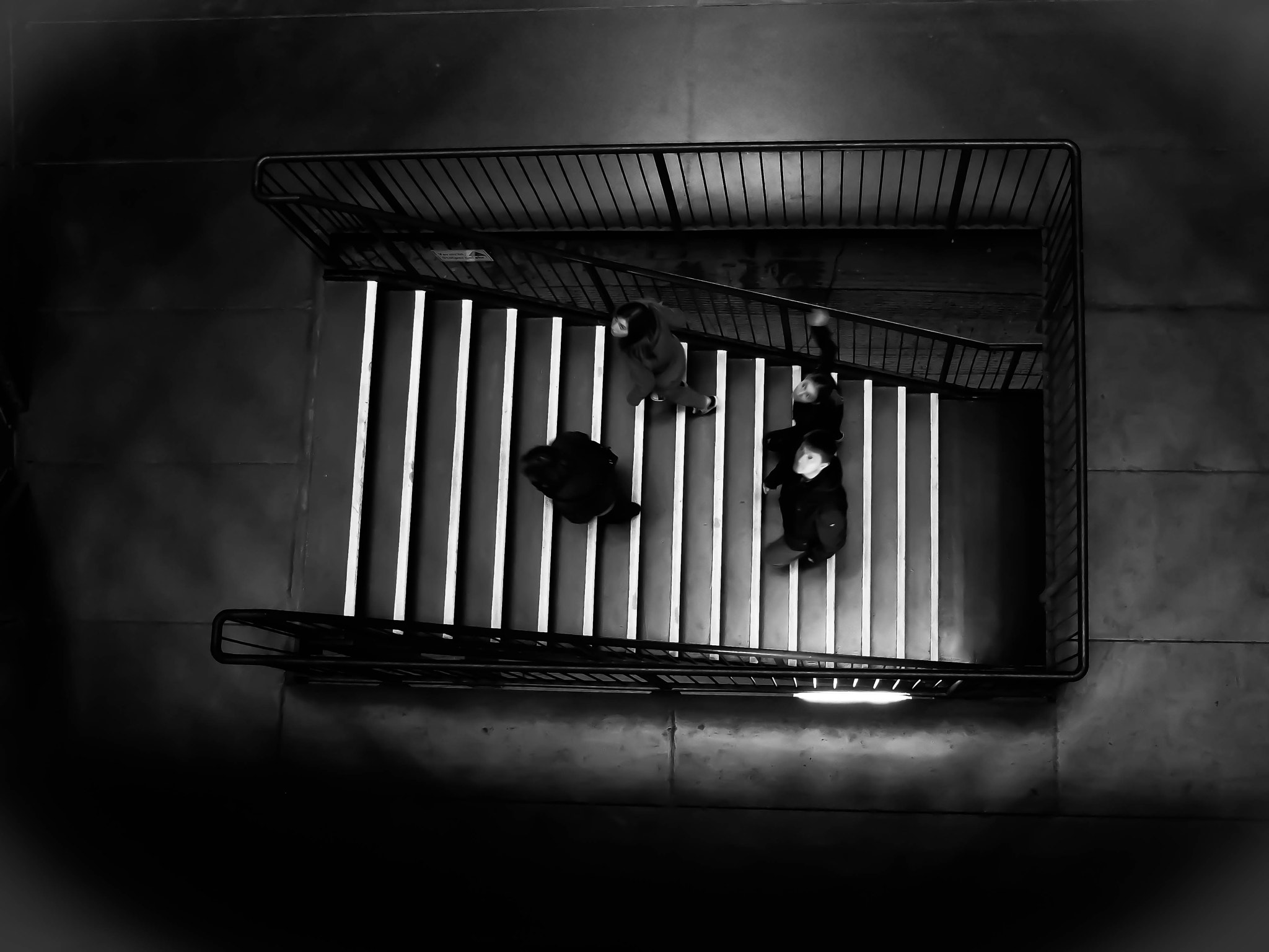 Photograph stairs up by Georgie Pauwels on 500px