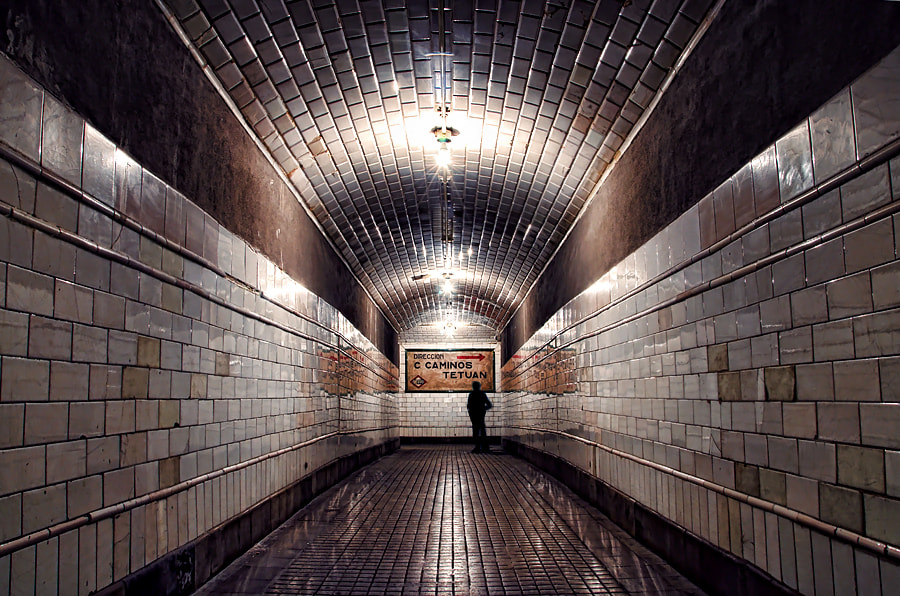 Photograph The Tunnel of Despair by Alfon No on 500px