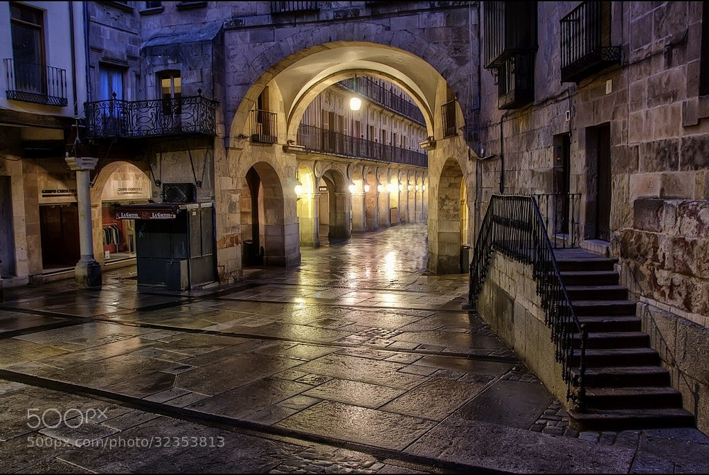 Photograph Salamanca in the night II  by Isidoro M on 500px