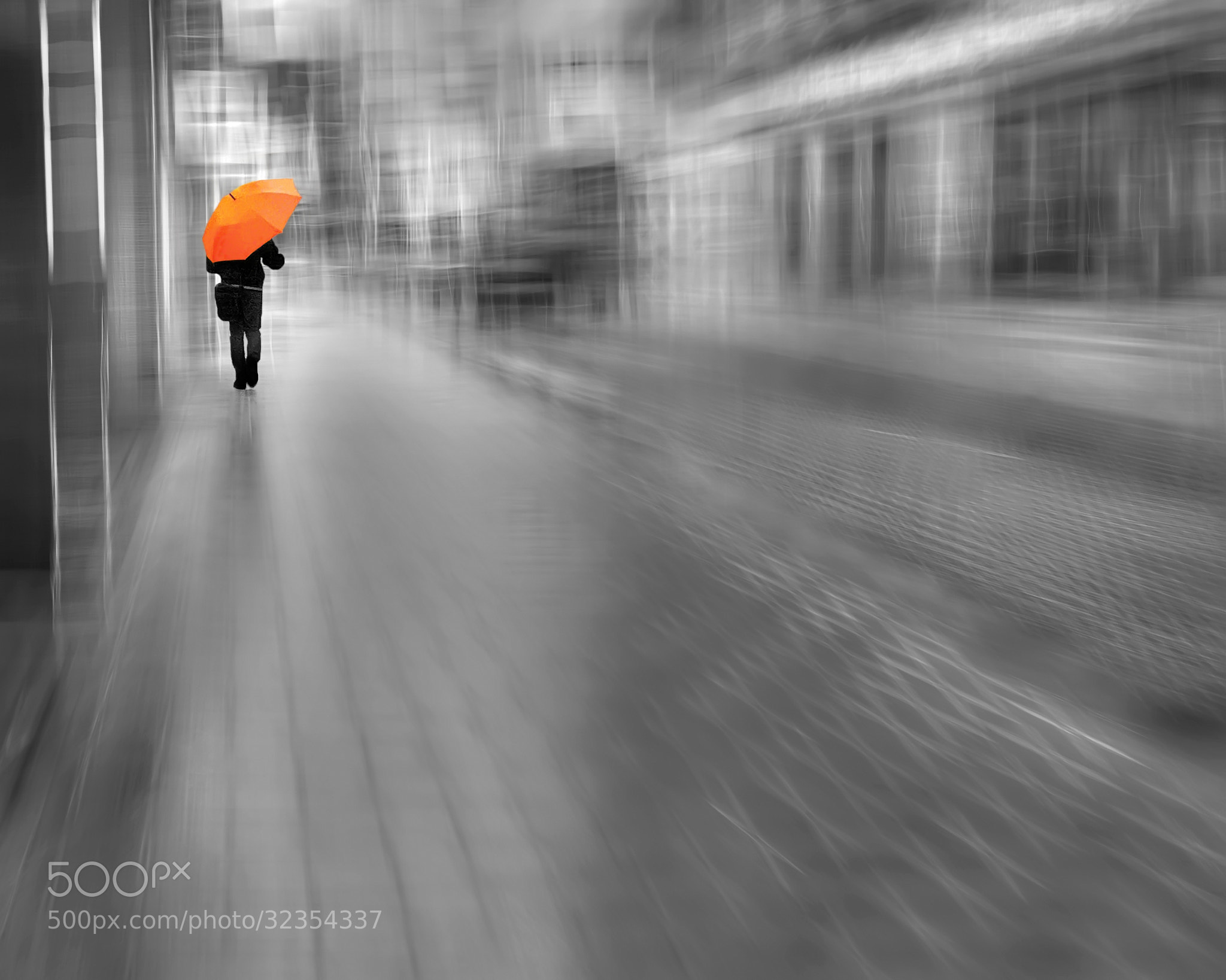 Photograph Orange Umbrella by Josep Sumalla i Jordana on 500px