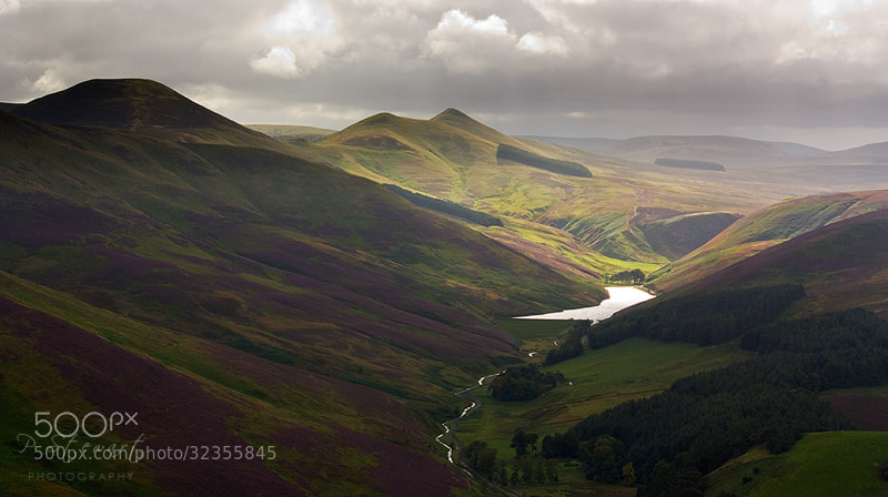 Photograph Painted Pentlands by Philip Stewart on 500px
