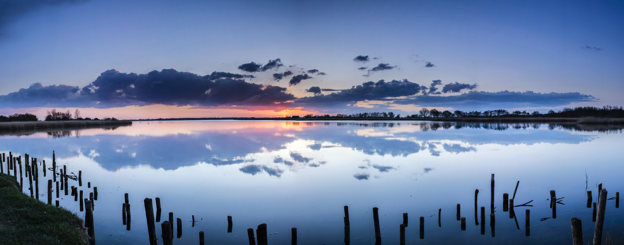 Photograph Sunset on the Mere by Gail Sparks on 500px