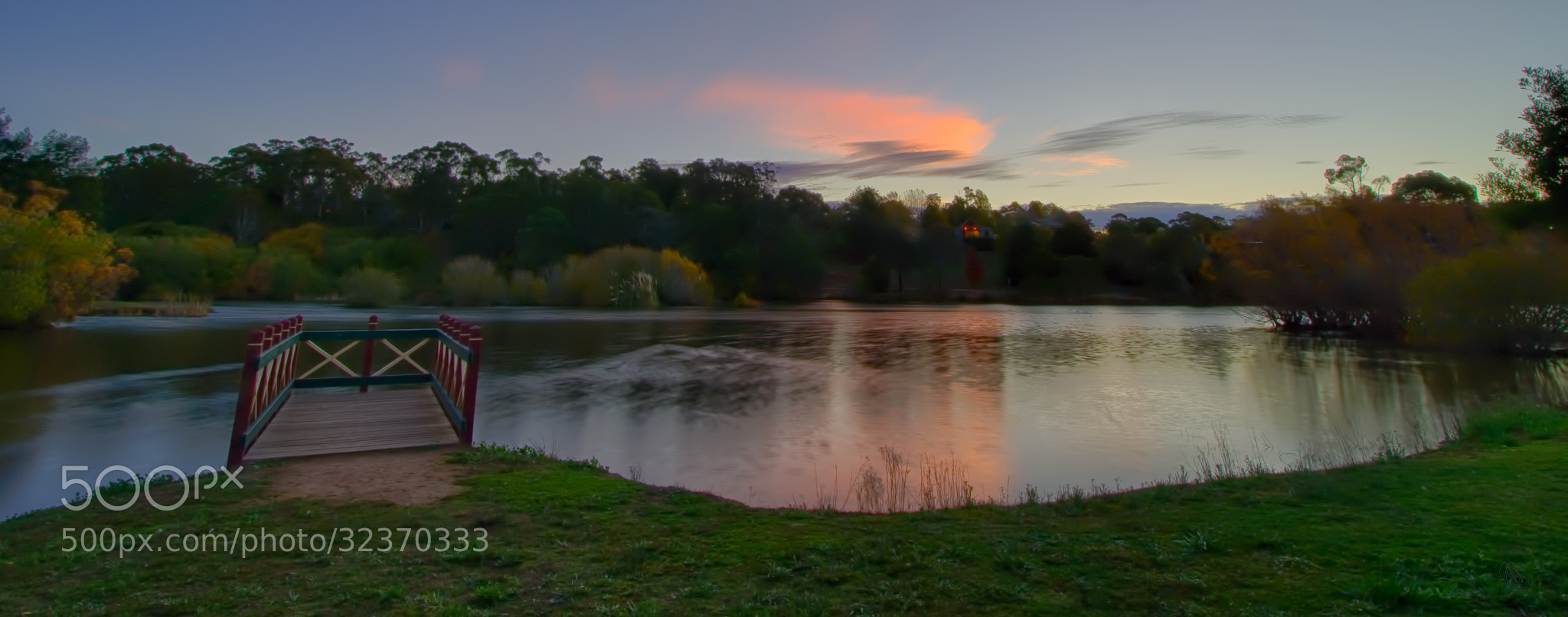 Photograph Sunset over the Lake by Pieter Pretorius on 500px