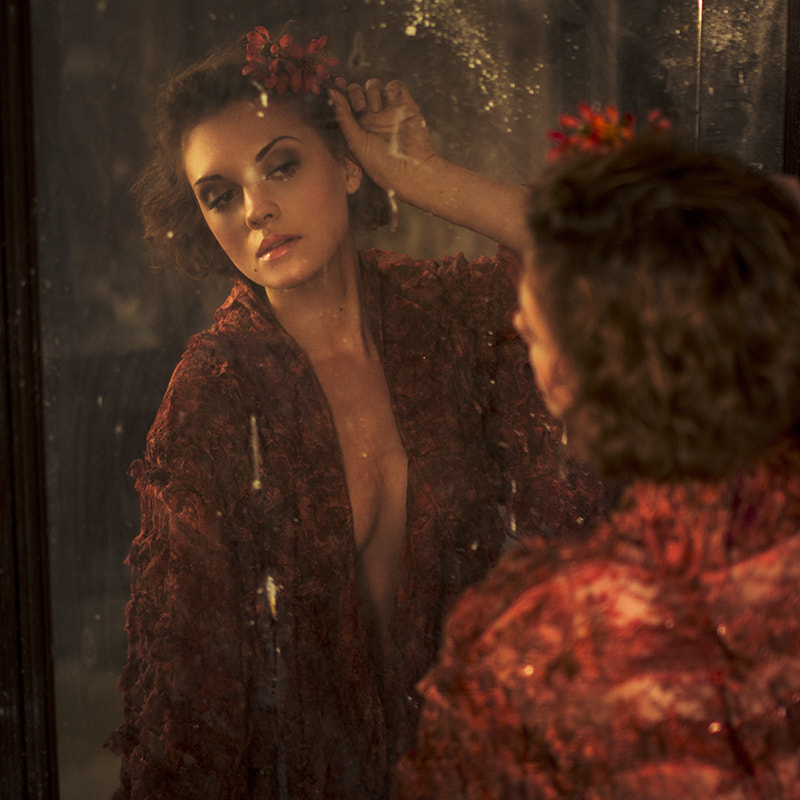 Photograph in the mirror by Maria Svarbova on 500px