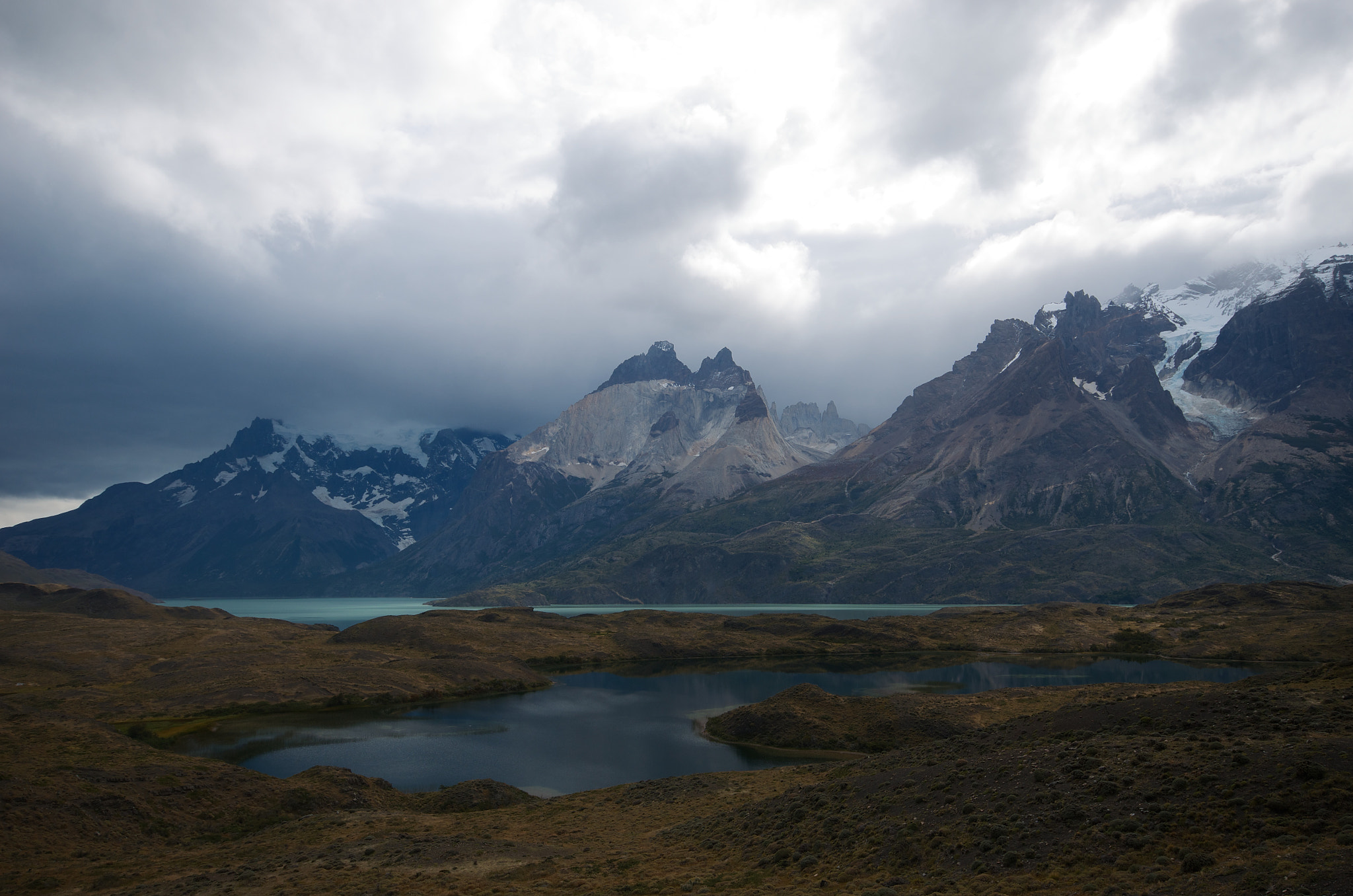 Photograph Lakes and mountains at Torres del Paine by Remco Douma on 500px