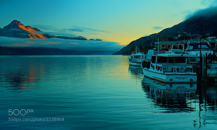 Photograph Queenstown sunset by SW arts on 500px