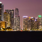 Постер, плакат: Key Biscayne Skyline