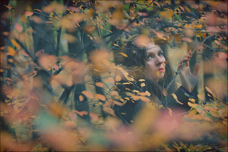 Photograph autumn nymph by Alla Mutelika on 500px