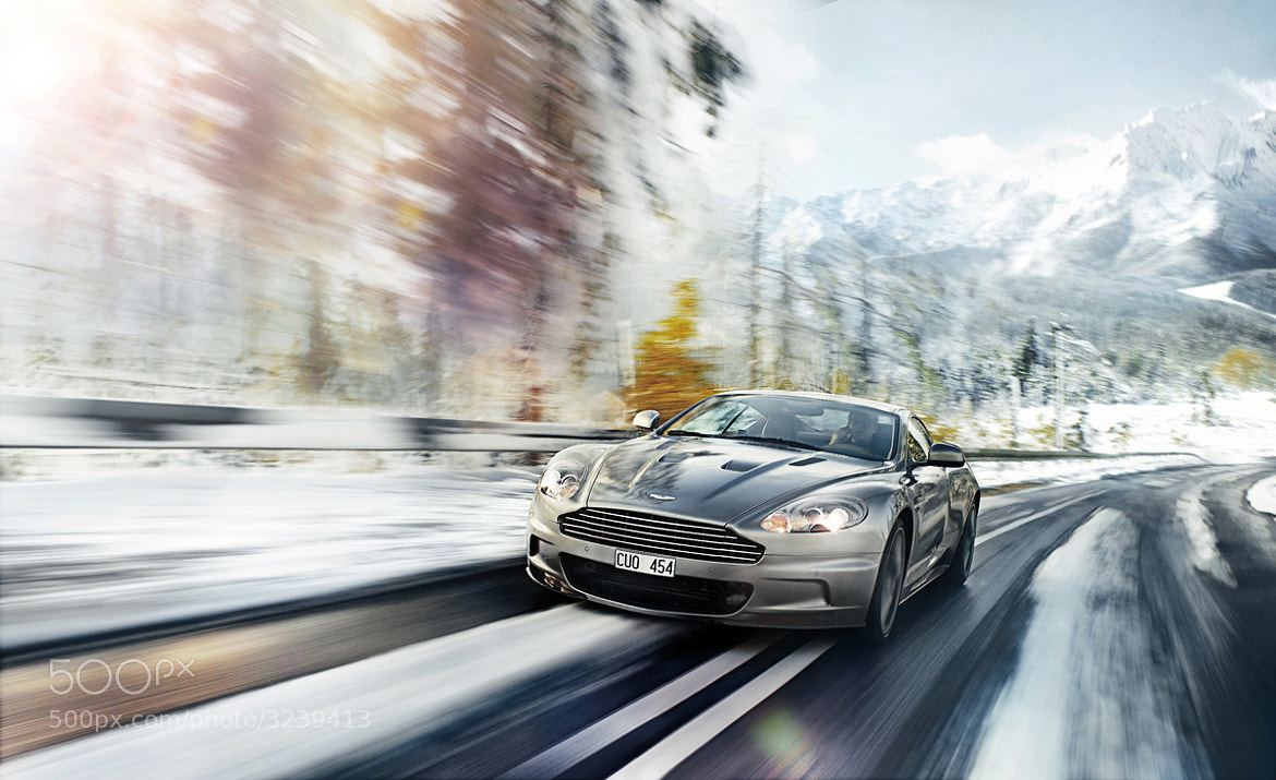 Photograph Aston Martin dbs in the mountains by Lukasz Pecak on 500px