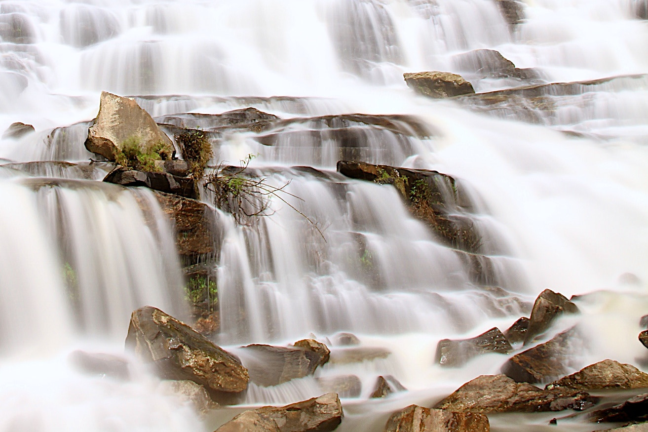 Photograph Cascading waterfall by Jinny Tan on 500px