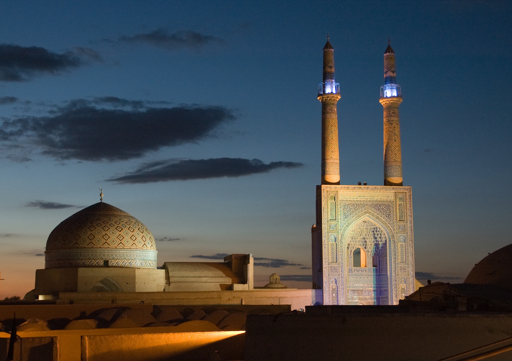 Photograph Jame mosque of Yazd by Edith Gstrein  on 500px