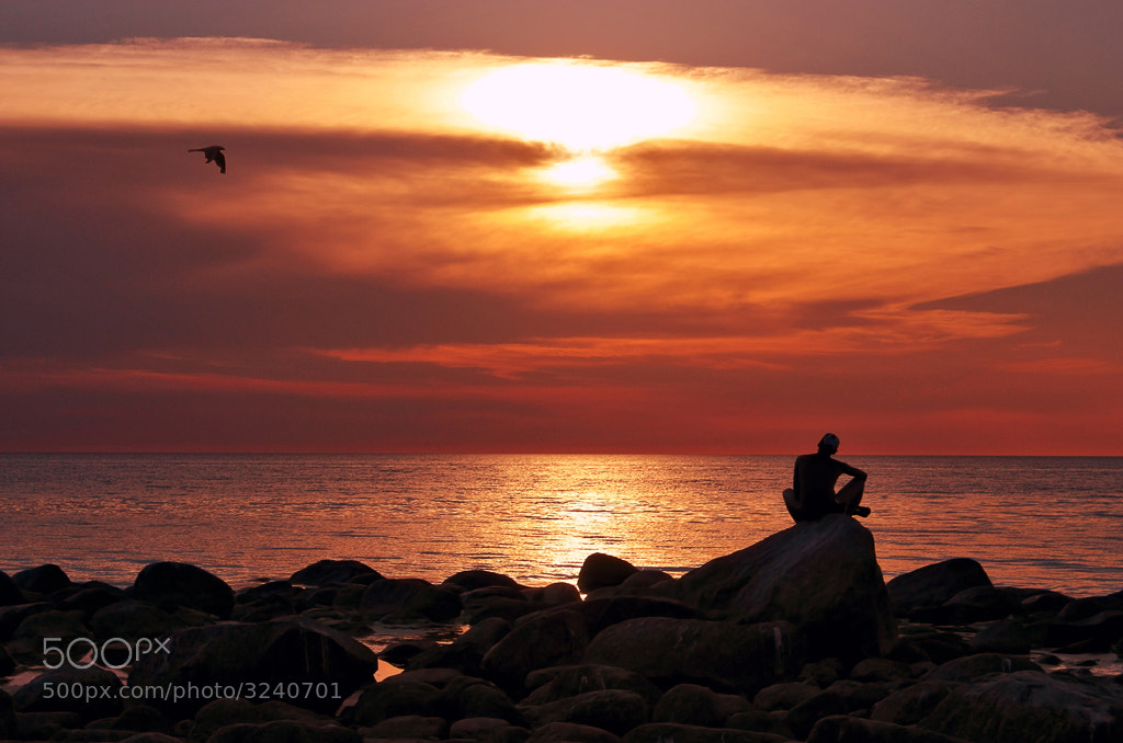 Photograph Sunset on Baltic sea by Alina Voitkovа on 500px